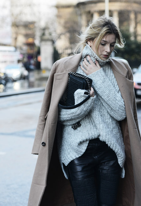 London Fashion Week street style AW14