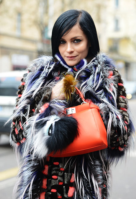 Milan Fashion Week Street Style Fall 2014