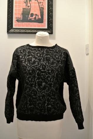 Zara baroque print jumper