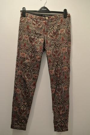 Zara baroque printed trousers